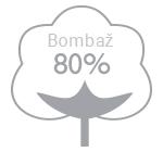 80% bombaž