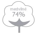 74% bavlna