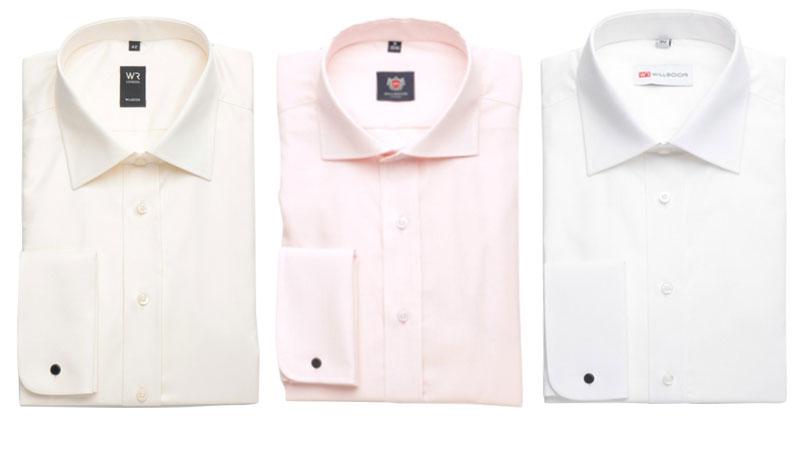 Svatební košile barva