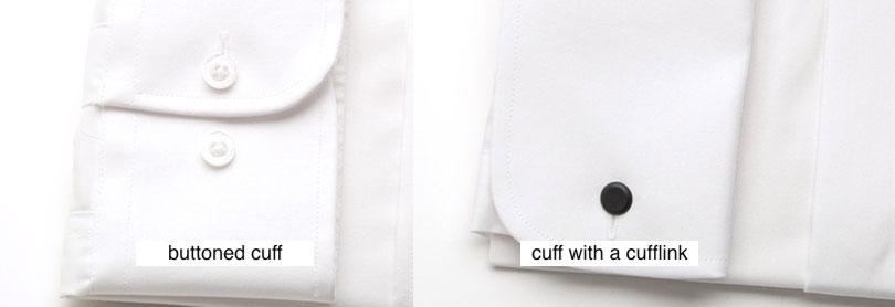 Zapínání svatební košile