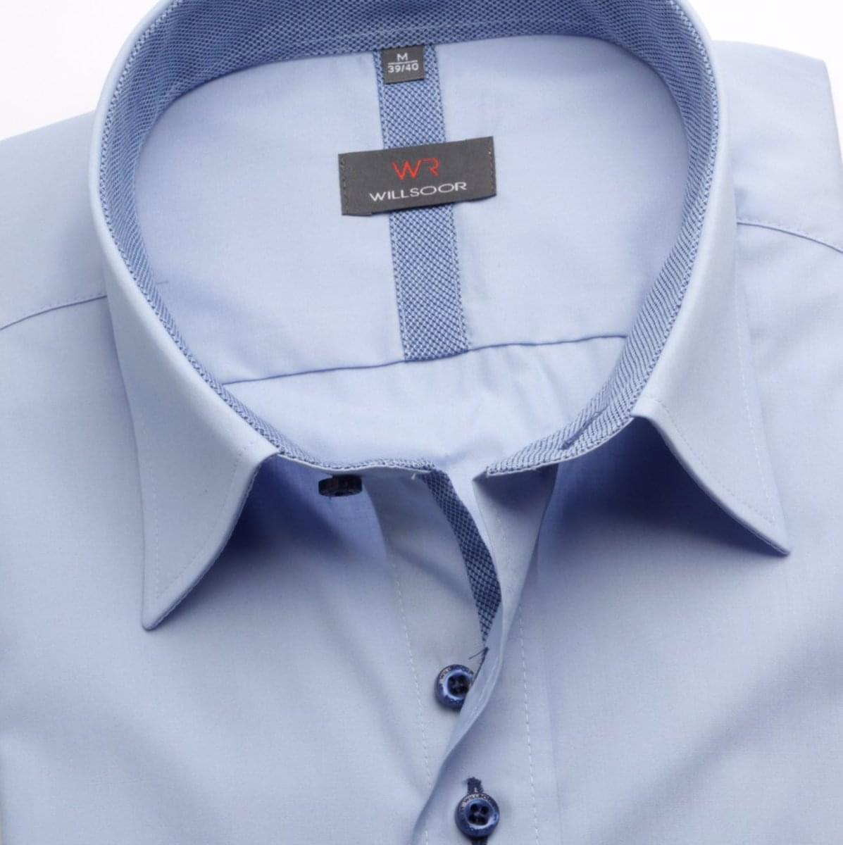 Pánská košile WR Classic v bledě modré barvě (výška 164-170) 5246