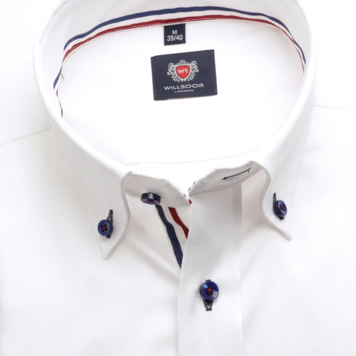 Pánská klasická košile London (výška 188-194) 6201 v bílé barvě s formulí Easy Care 188-194 / XXL (45/46)