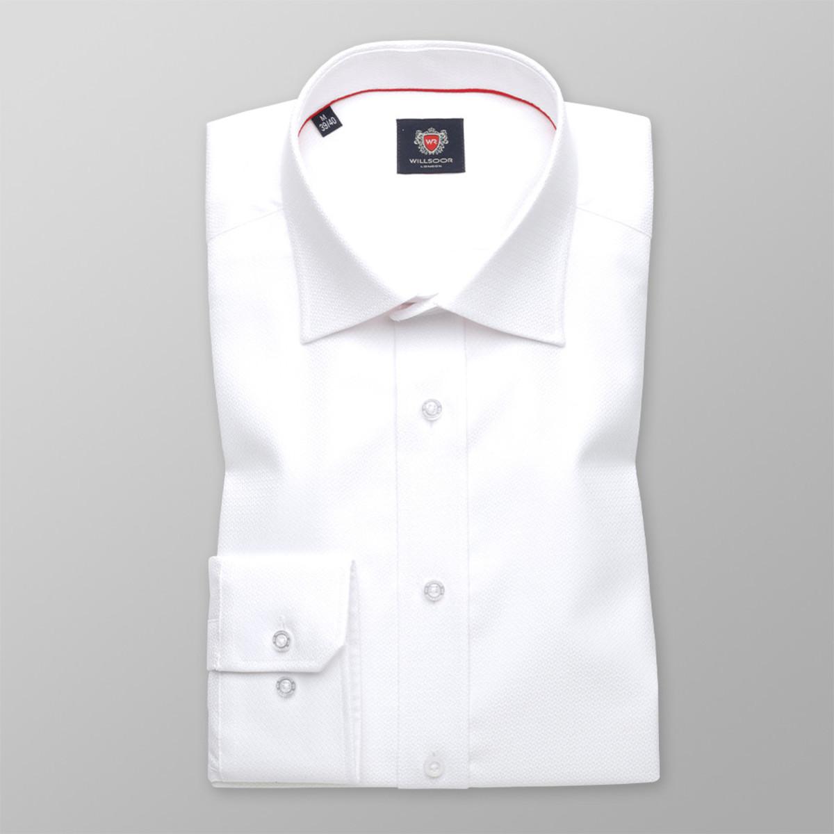 Košile London bílé barvy (výška 176-182 a 188-194) 10046 176-182 / M (39/40)