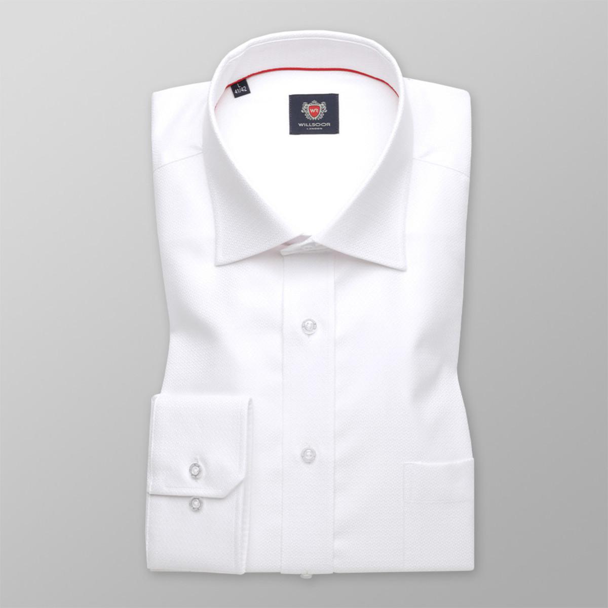 Košile London bílé barvy (výška 176-182 a 188-194) 10047 176-182 / L (41/42)