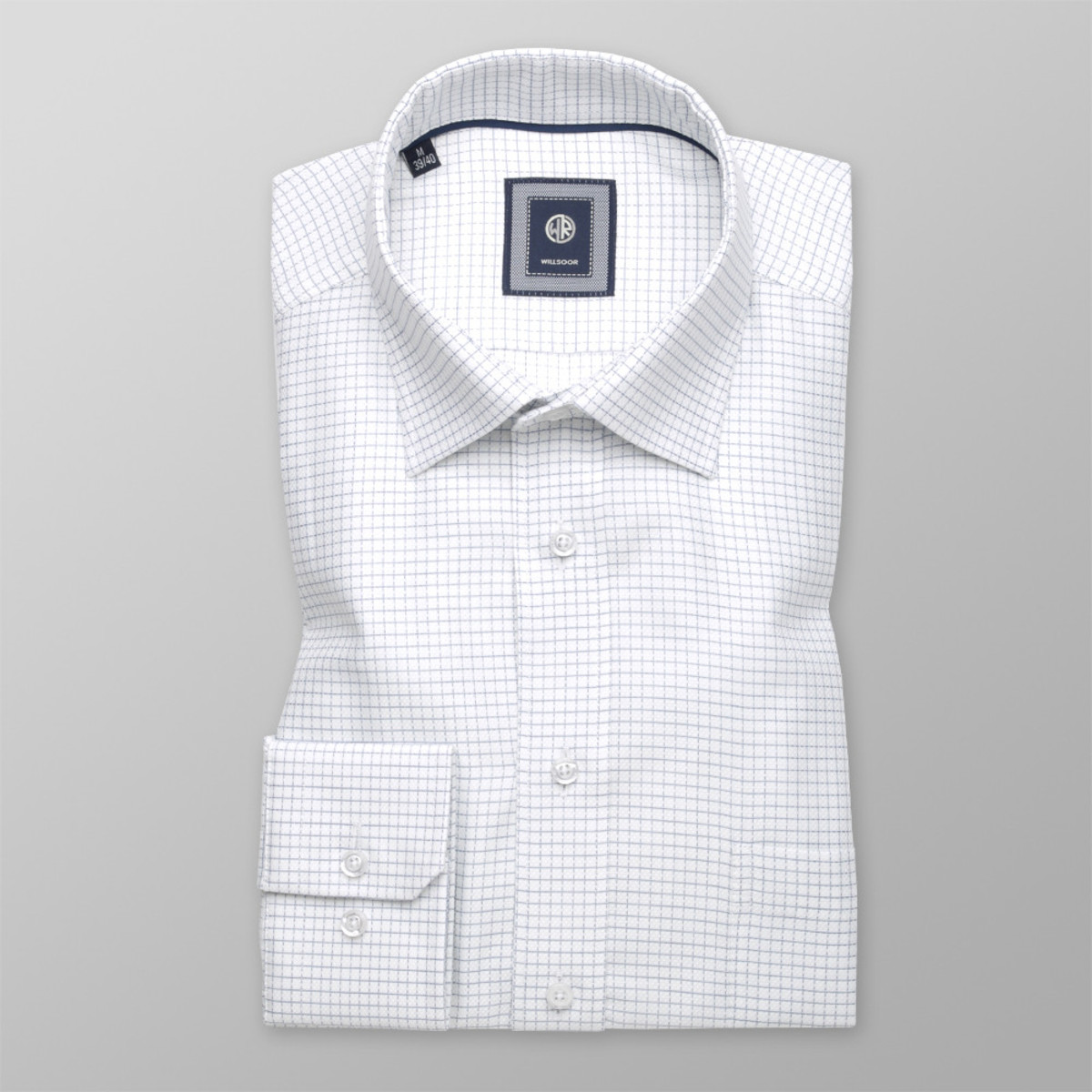 Košile London s jemným vzorem (výška 176-182) 10206 176-182 / M (39/40)