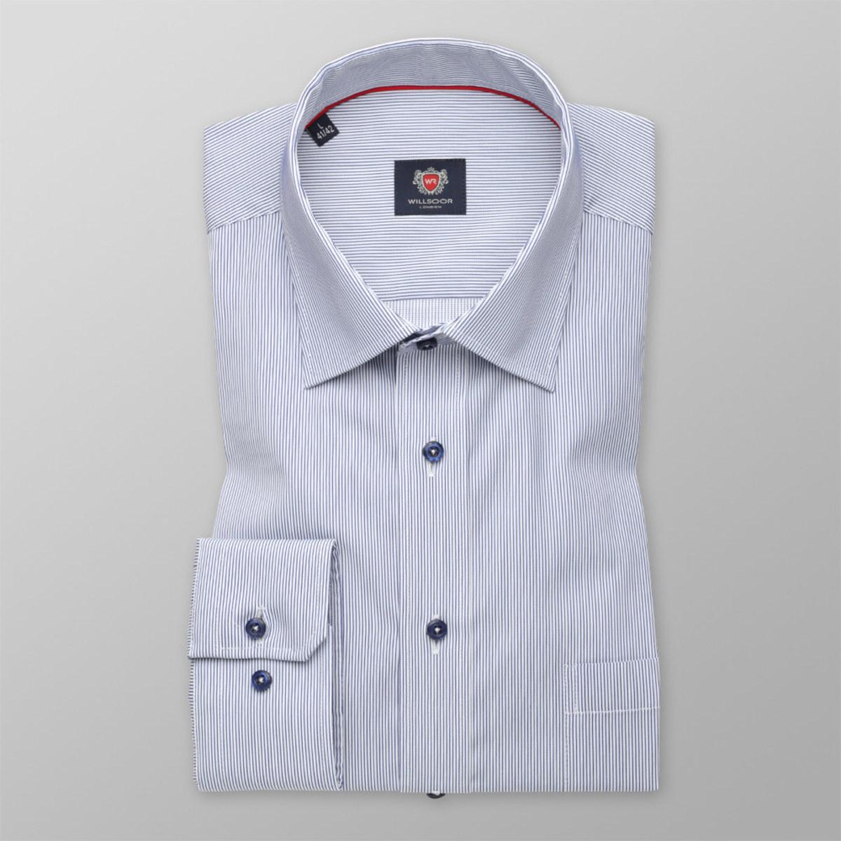 Košile London s pruhovaným vzorem (výška 176-182) 10223 176-182 / M (39/40)
