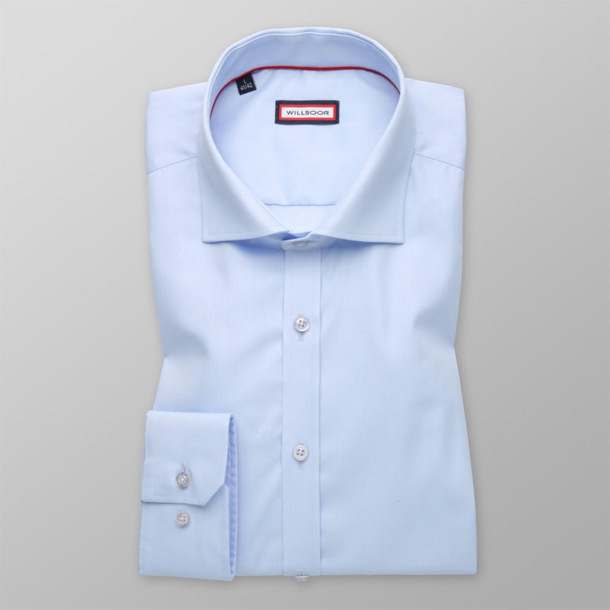 Košile Extra Slim Fit světle modrá (výška 176-182) 11013 176-182 / XL (43/44)