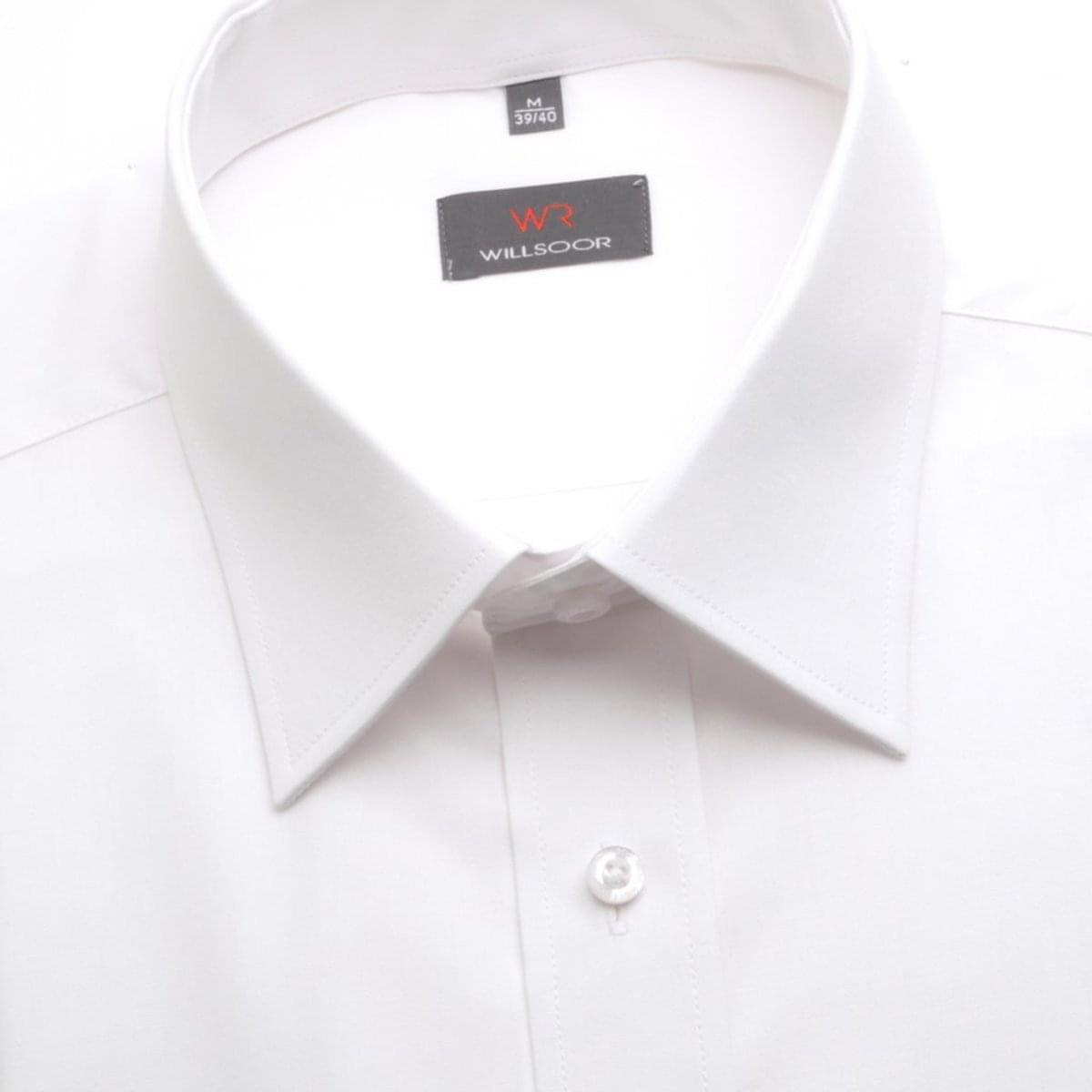 Pánská slim fit košile (výška 188-194) 1375 v bílé barvě 188-194 / XL (43/44)
