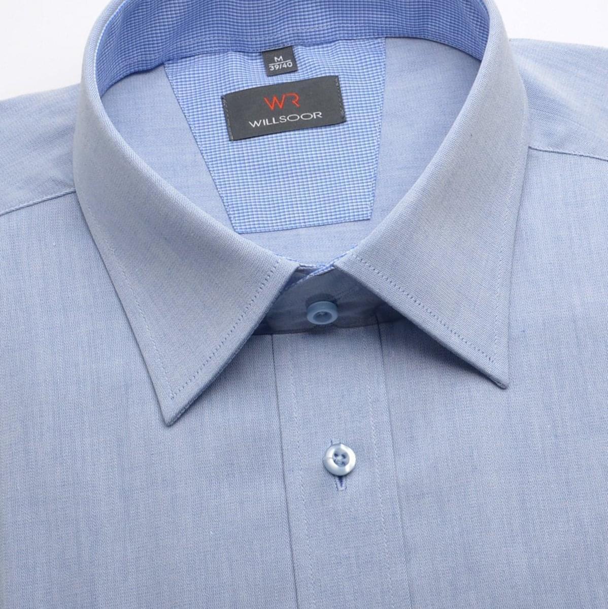 Willsoor Pánská košile WR Classic (výška 176-182) 1589 176-182 / L (41/42)