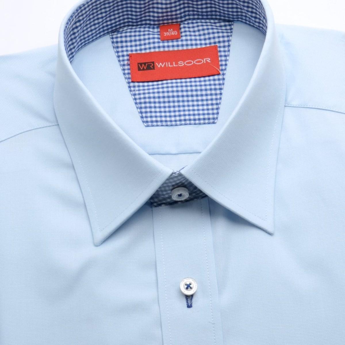 Willsoor Pánská košile WR Slim Fit (výška 164-170) 1717 164-170 / L (41/42)