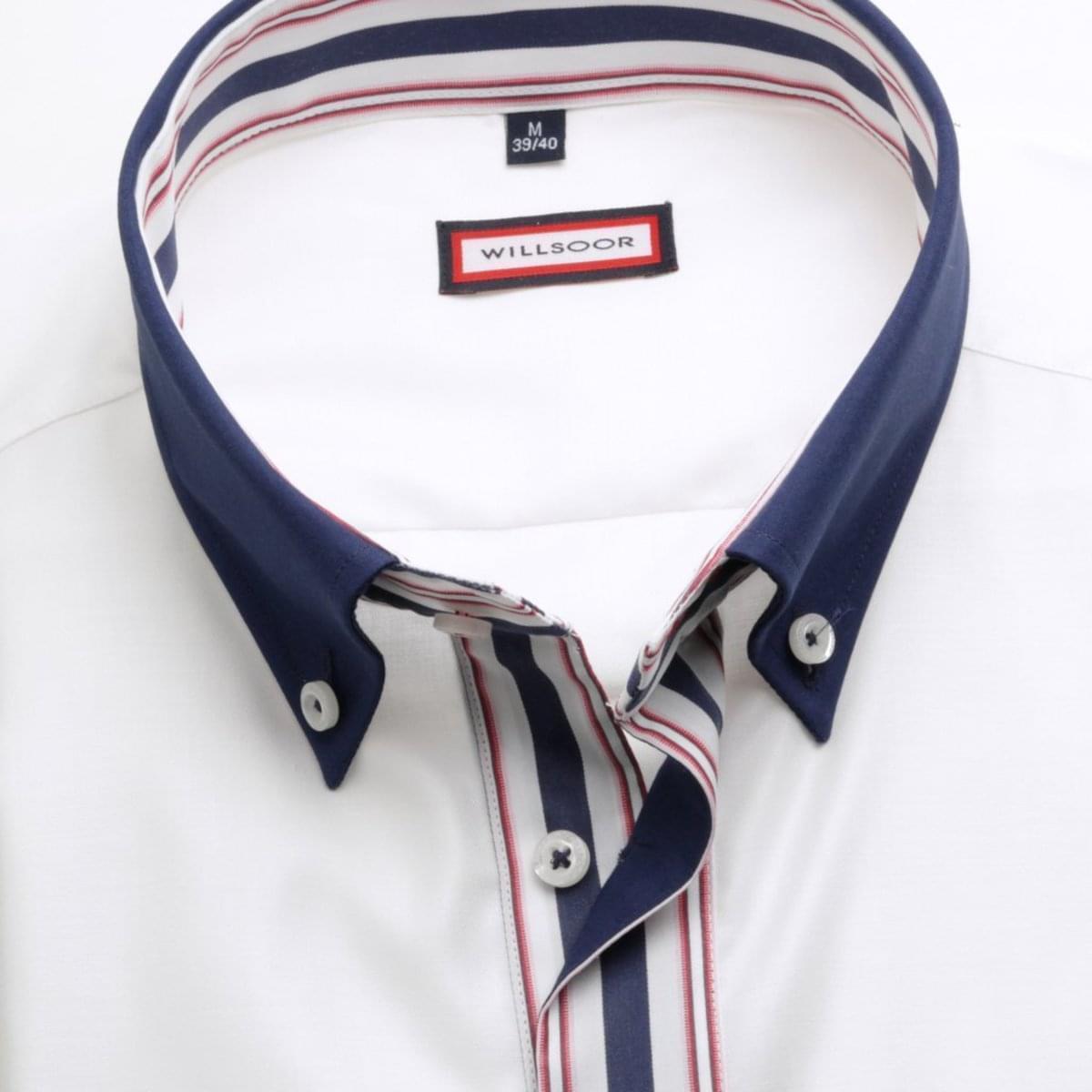 Willsoor Pánská košile WR Slim Fit (výška 176-182) 1963 176-182 / L (41/42)