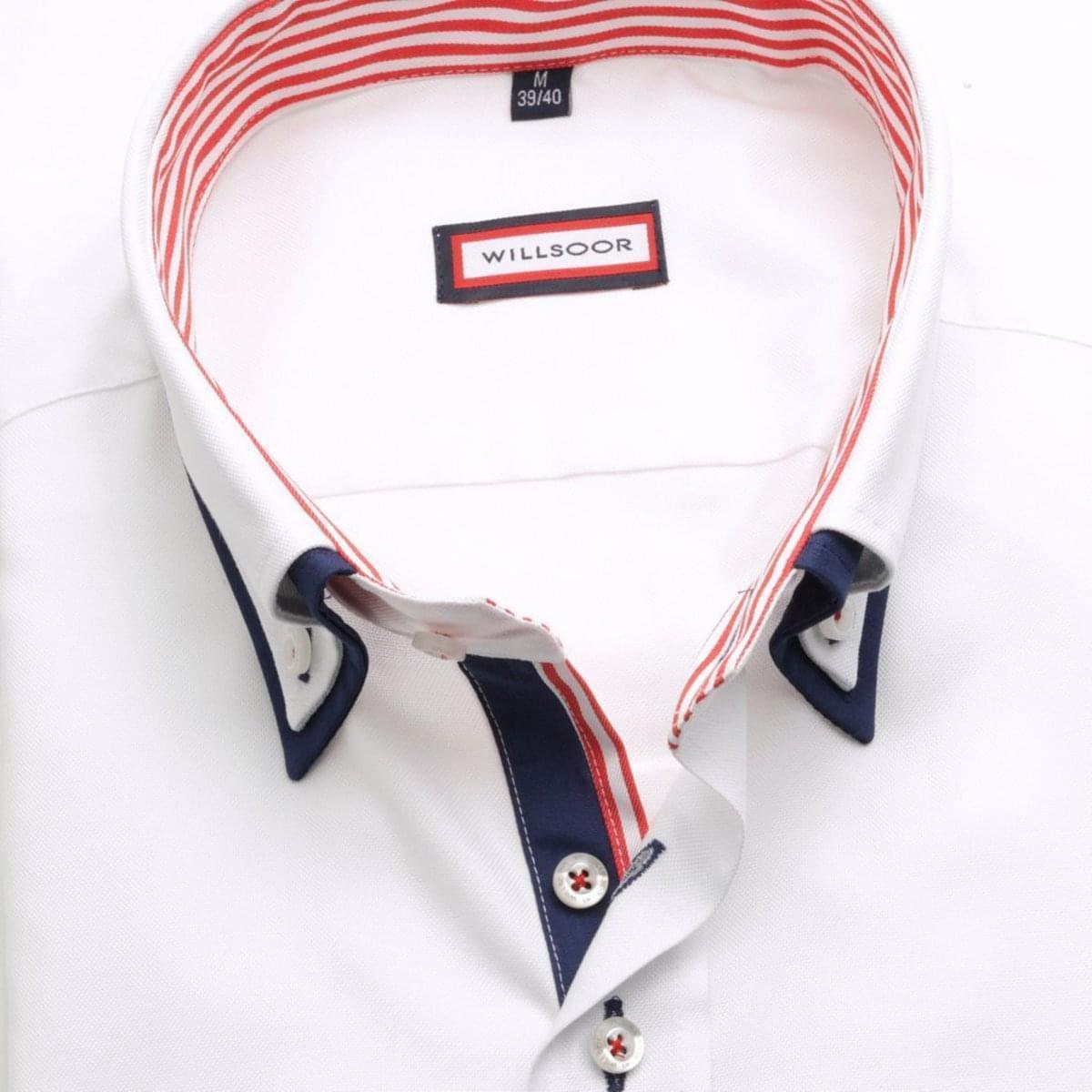 Willsoor Pánská košile WR Slim Fit (výška 176-182) 1967 176-182 / M (39/40)