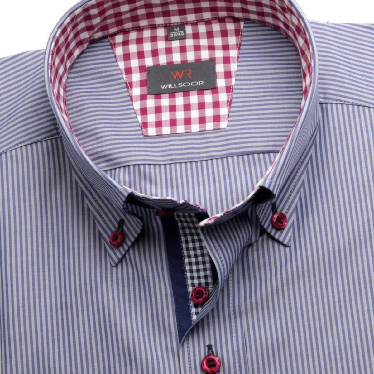 Willsoor Pánská košile WR Slim Fit (výška 176-182) 1974 176-182 / M (39/40)