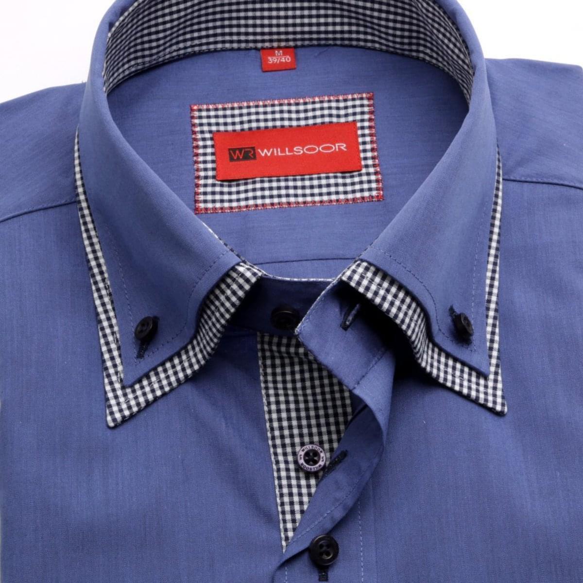Willsoor Pánská košile WR Slim Fit (výška 176-182) 1990 176-182 / XL (43/44)