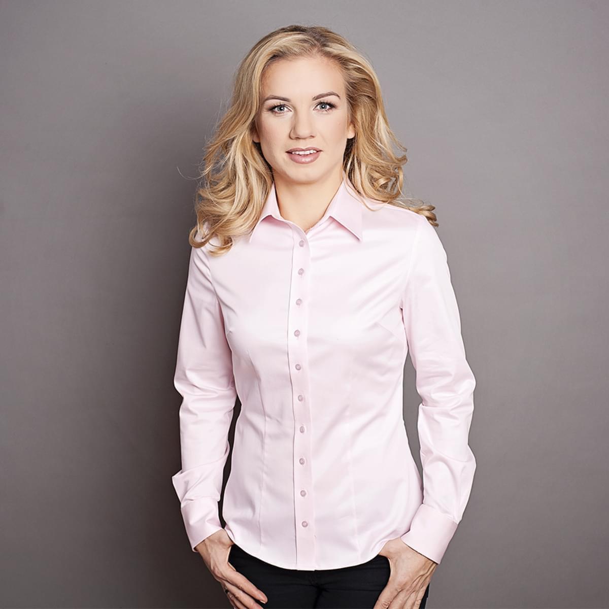 Dámská košile Willsoor růžová 2235 34