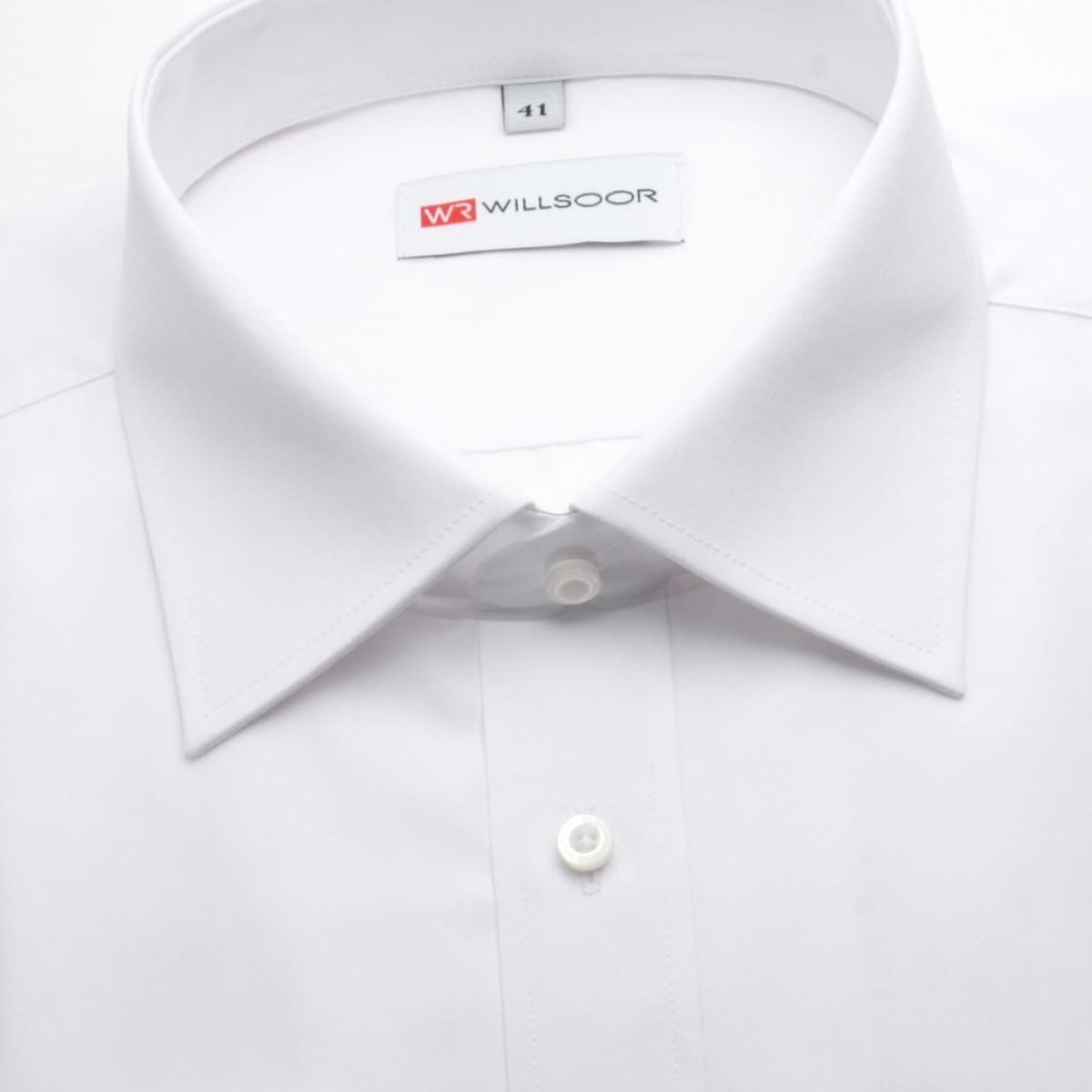 Pánská slim fit košile (výška 188-194) 354 v bílé barvě 188-194 / XL (43/44)