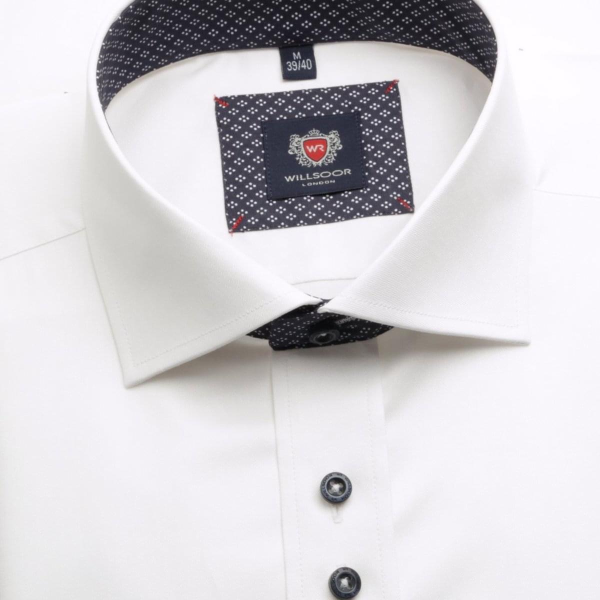 Pánská košile WR London v bílé barvě (výška 176-182) 4475 176-182 / XL (43/44)