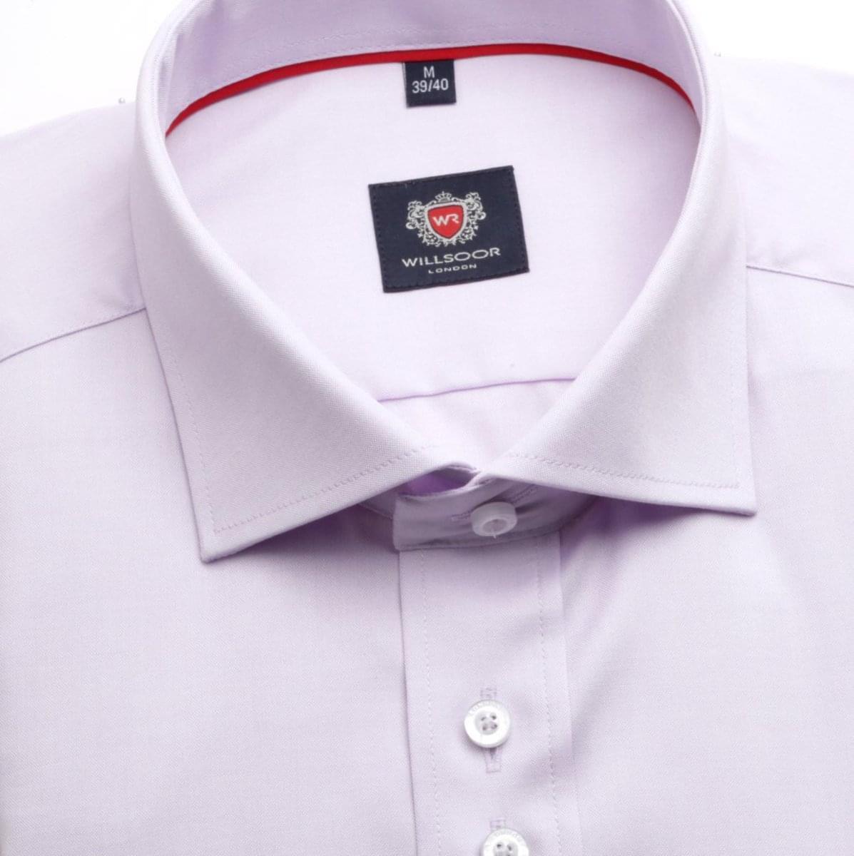 Pánská košile WR London ve fialkové barvě (výška 176-182) 5180 176-182 / XL (43/44)