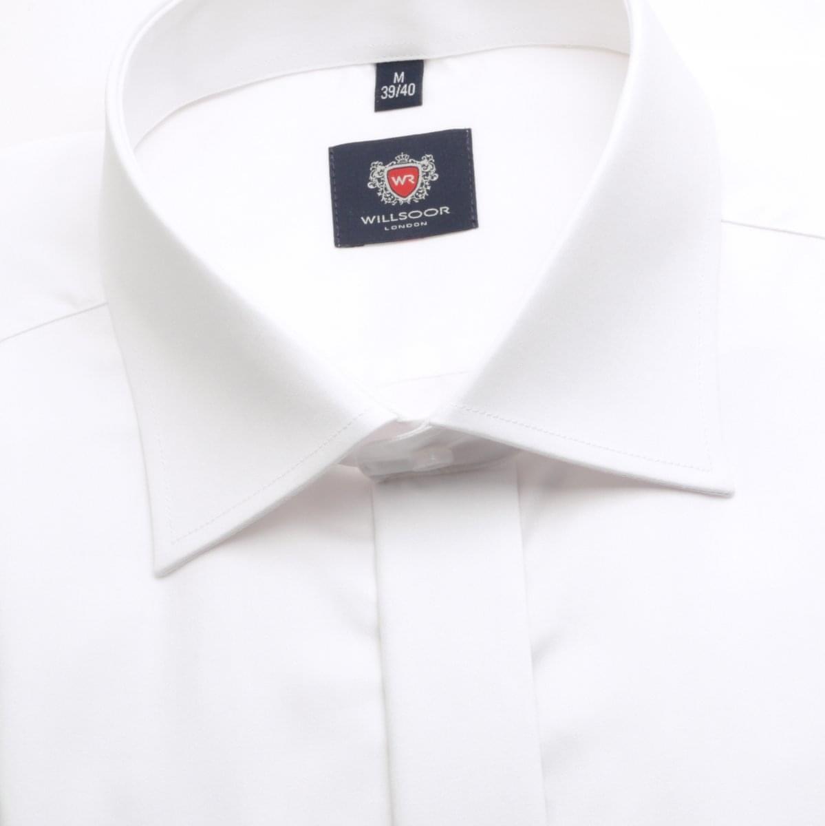 Pánská košile WR London v bílé barvě (výška 176-182) 5260 176-182 / S (37/38)