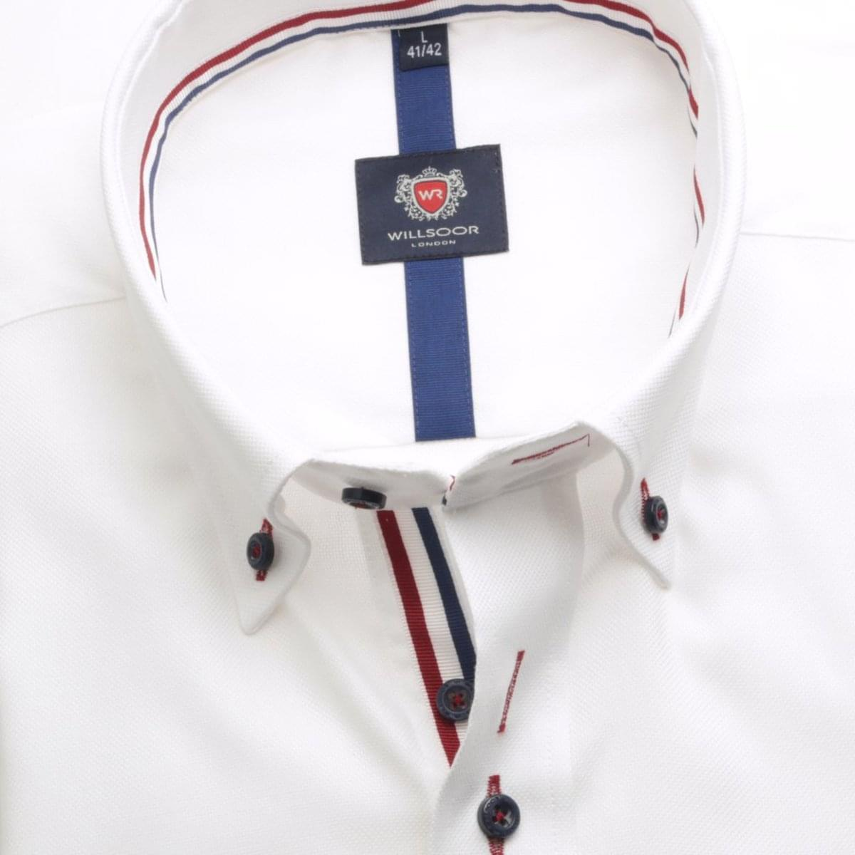 Pánská košile WR London v bílé barvě (výška 176-182) 5274 176-182 / XL (43/44)