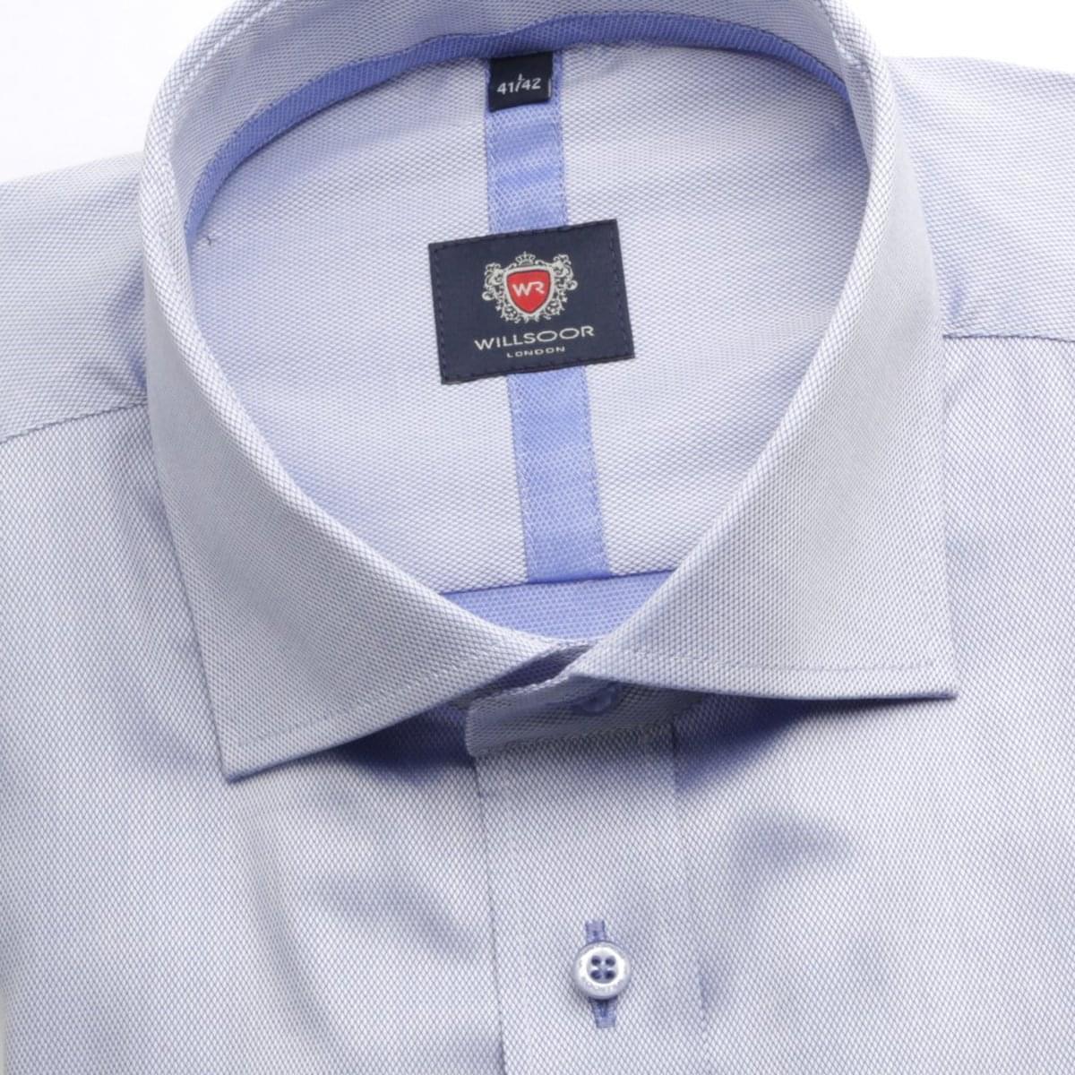Pánská košile WR London v modré barvě (výška 176-182) 5284 176-182 / XL (43/44)