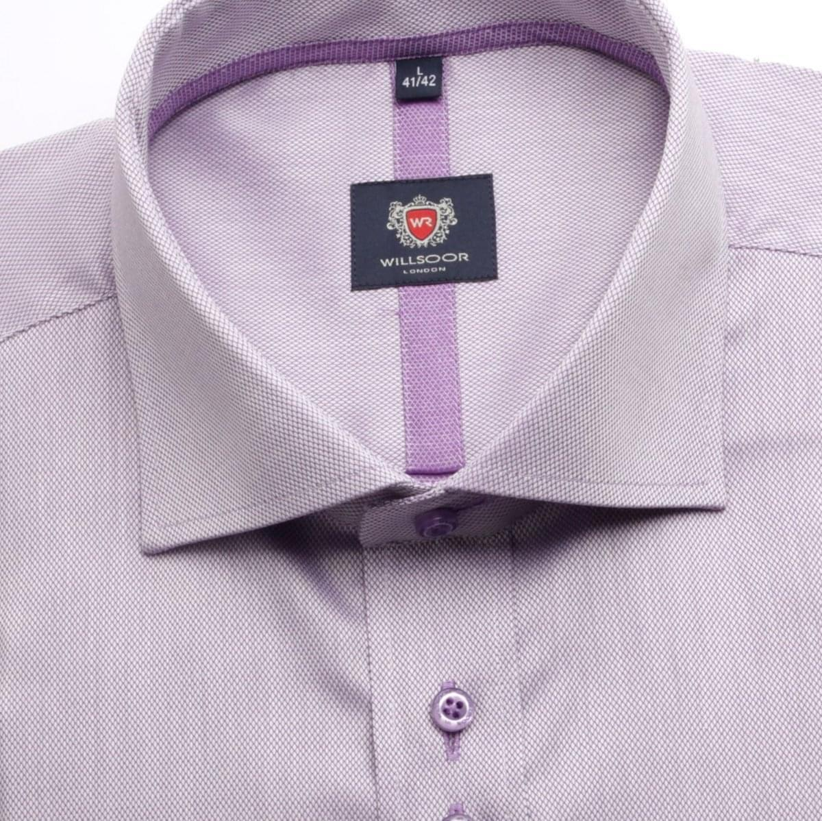 Pánská košile WR London ve fialkové barvě (výška 176-182) 5285 176-182 / XL (43/44)