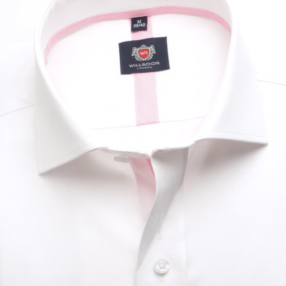Pánská košile London v bílé barvě (výška 176-182) 5451 176-182 / XL (43/44)