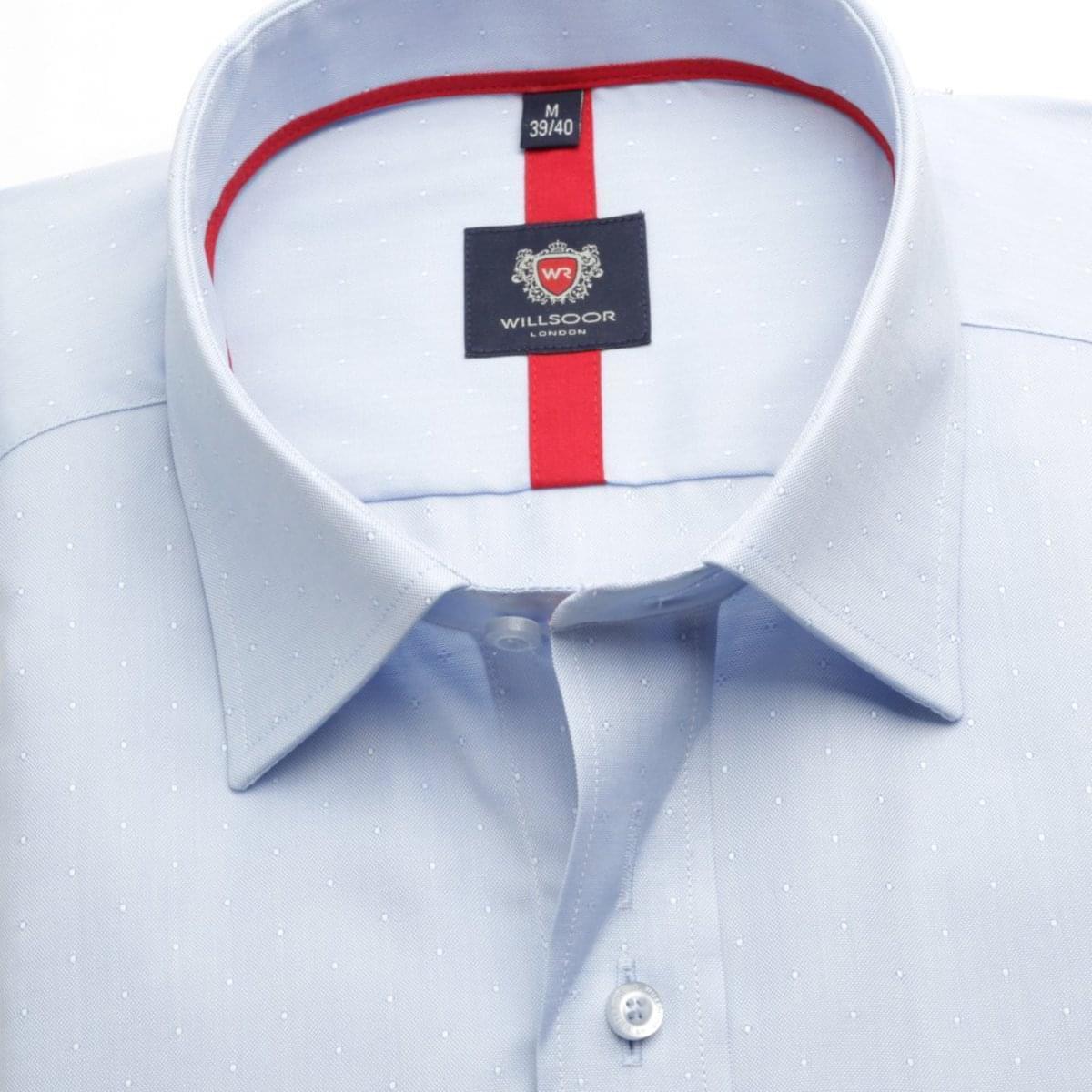 Pánská košile London v bledě modré barvě (výška 176-182) 5506 176-182 / XL (43/44)