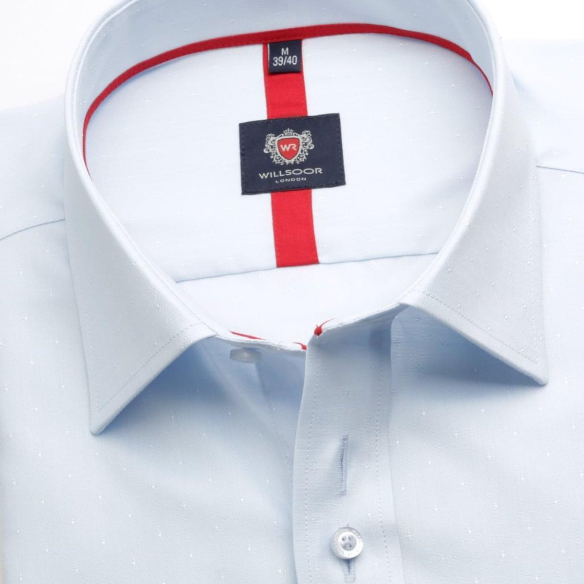 Pánská košile London v bledě modré barvě (výška 176-182) 5510 164-170 / XL (43/44) 176-182 / XL (43/44)