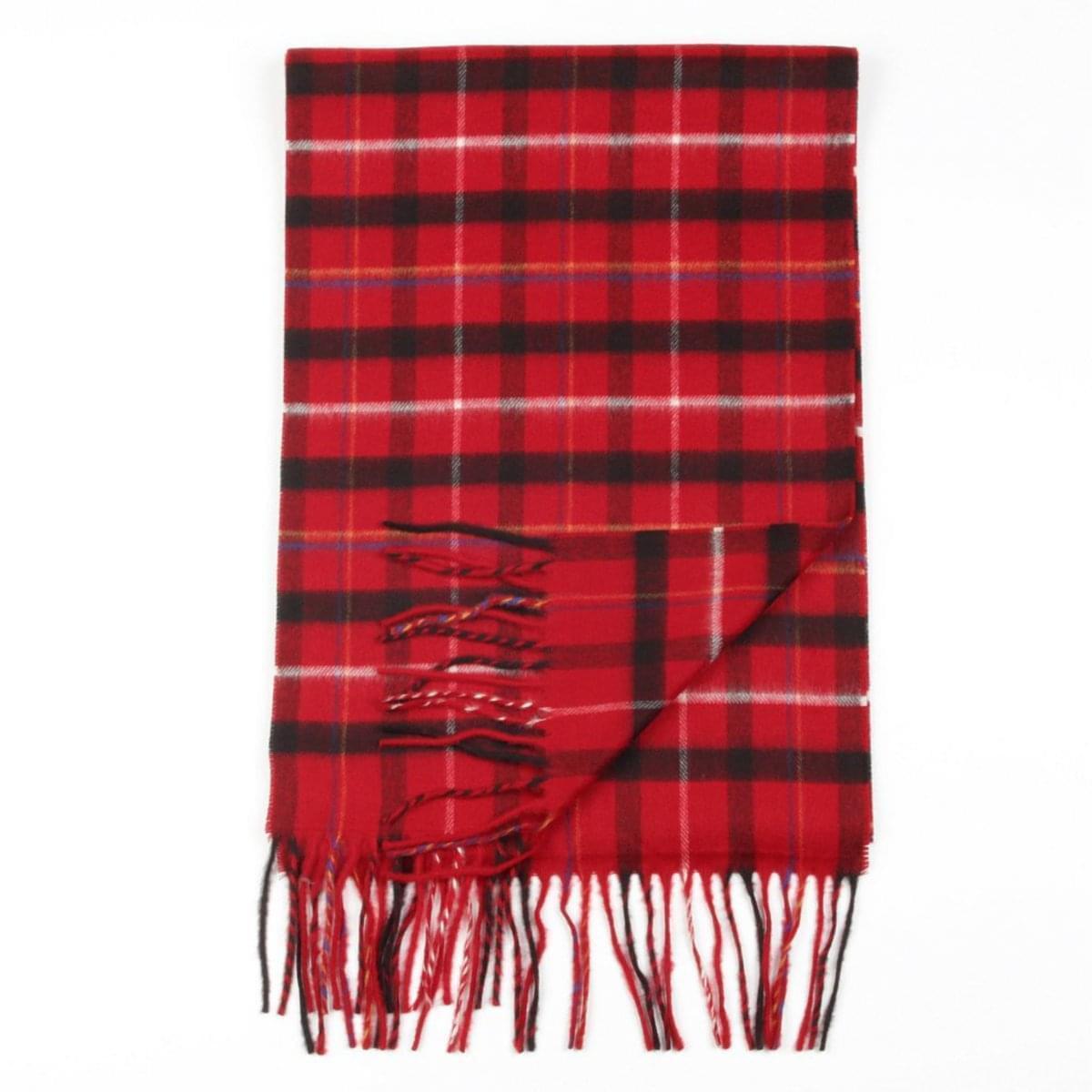 Pánská šála (vzor 112) 5665 v červené barvě