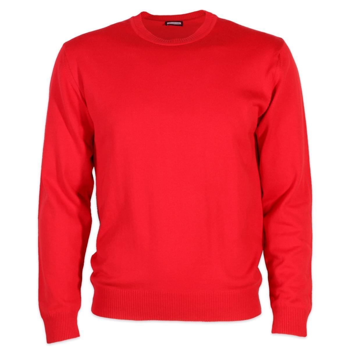 Pánský svetr Willsoor 5760 v červené barvě M