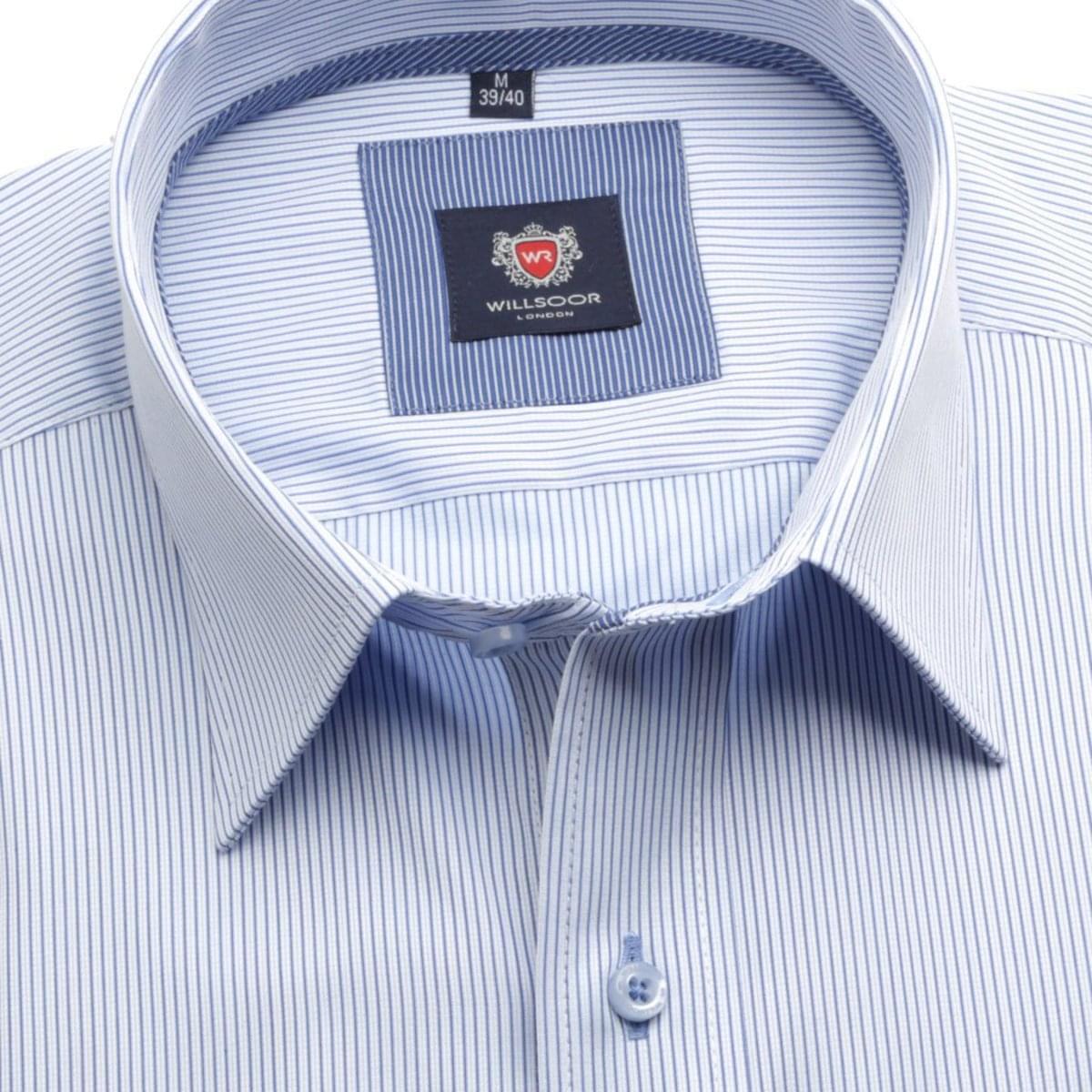 Pánská košile London (výška 176-182) 5774 v bílé barvě 176-182 / L (41/42)
