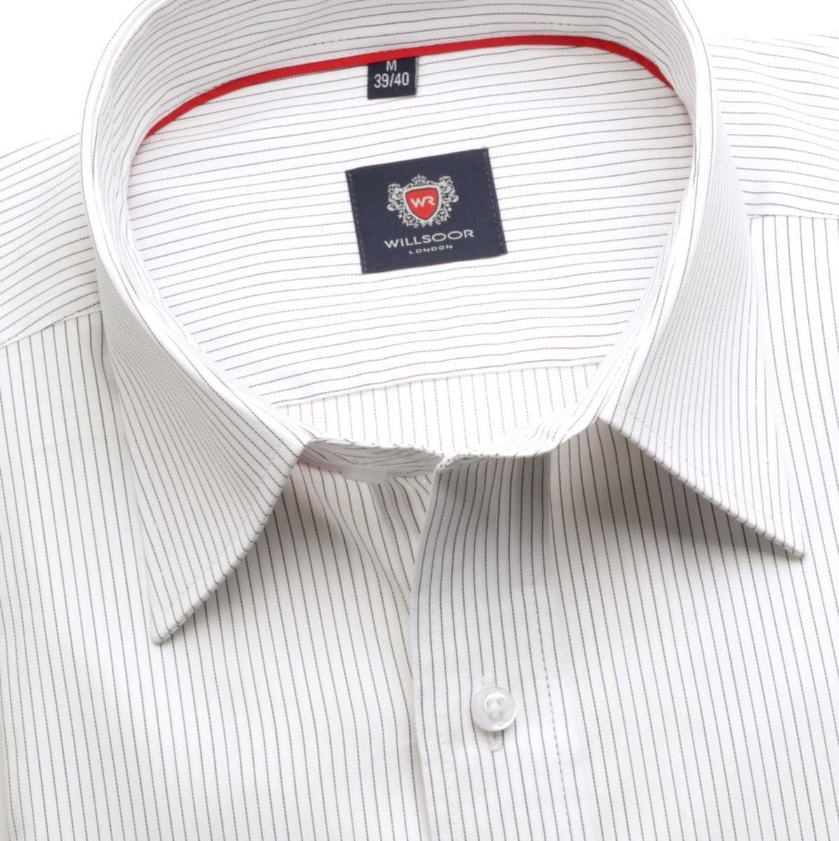 Pánská košile London (výška 176-182) 5929 v bílé barvě 176-182 / XL (43/44)