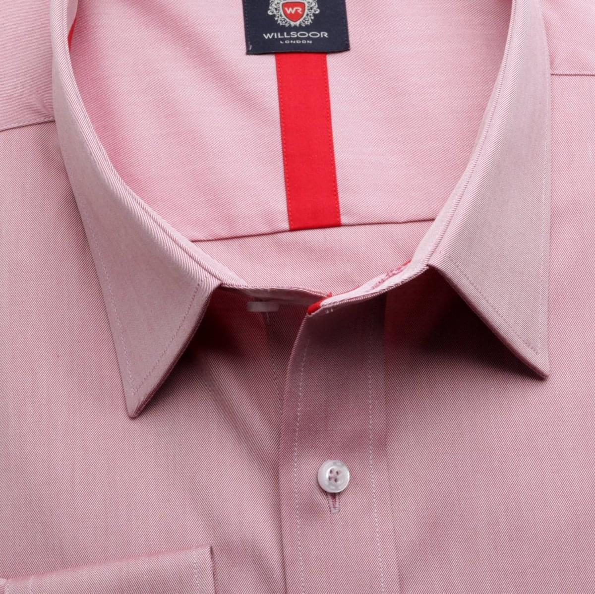 Pánská klasická košile London (výška 176-182) 5995 ve fialkové barvě s formulí Easy Care 176-182 / 47/48