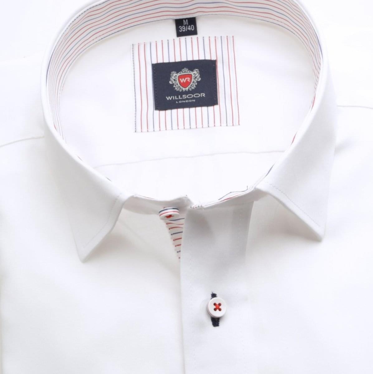Pánská klasická košile London (výška 176-182) 6312 v bílé barvě s formulí Easy Care 176-182 / XL (43/44)