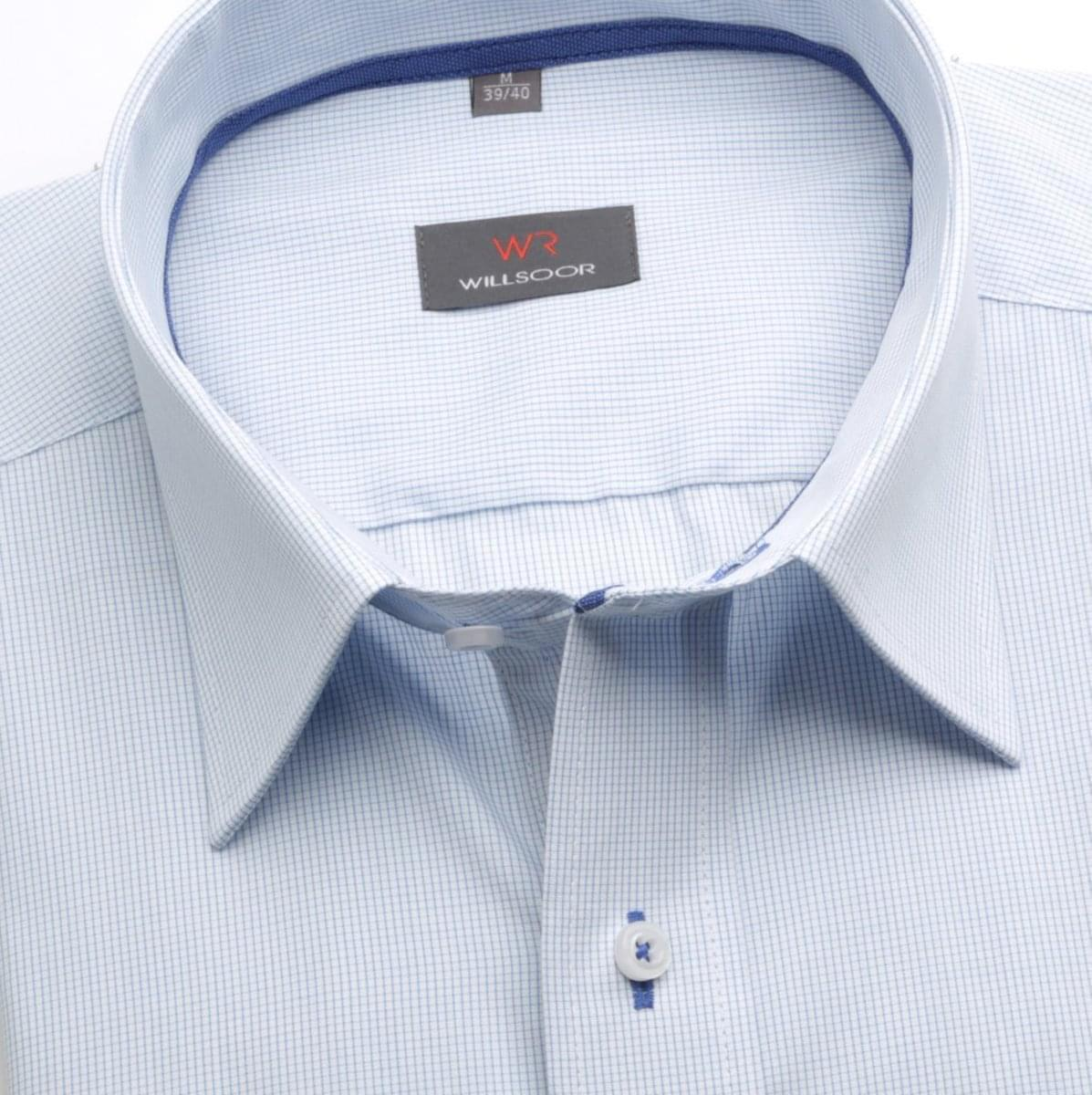 Pánská slim fit košile (výška 188-194) 6623 v bílé barvě s formulí Easy Care 188-194 / XL (43/44)