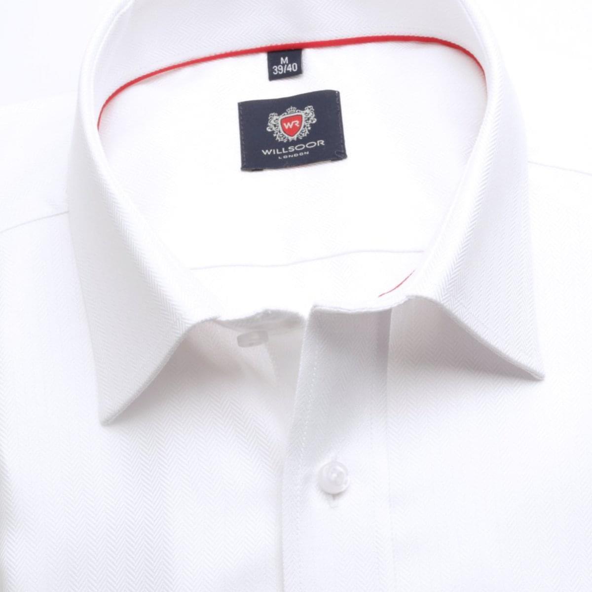 Pánská klasická košile London (výška 188-194) 6687 v bílé barvě s formulí Easy Care 188-194 / XL (43/44)