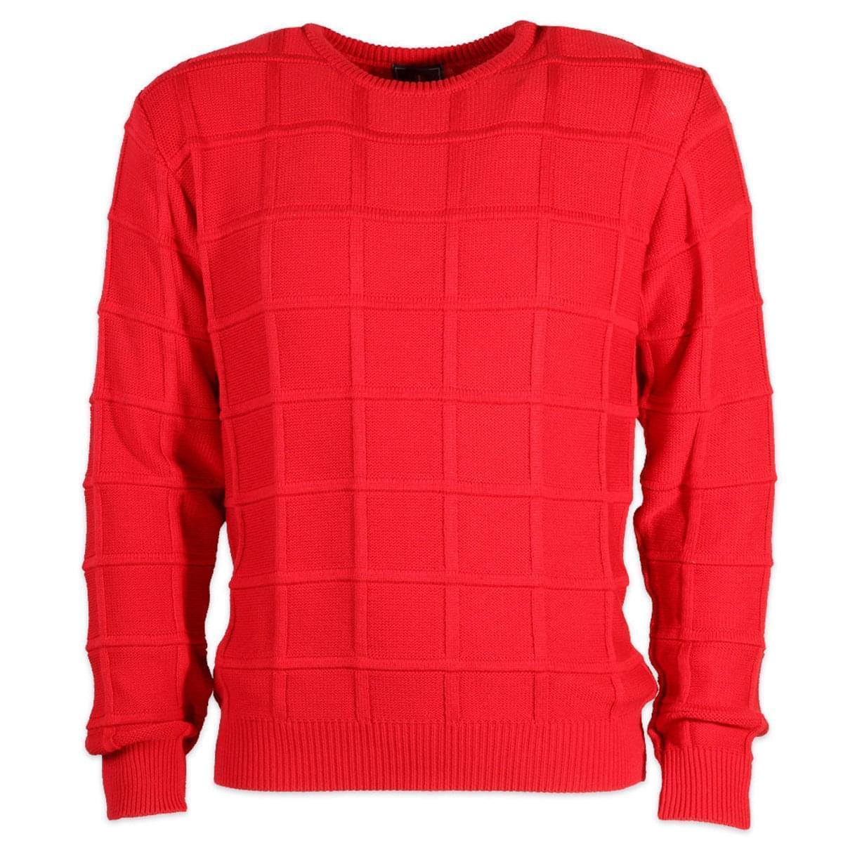 Pánský svetr Willsoor 6867 v červené barvě M