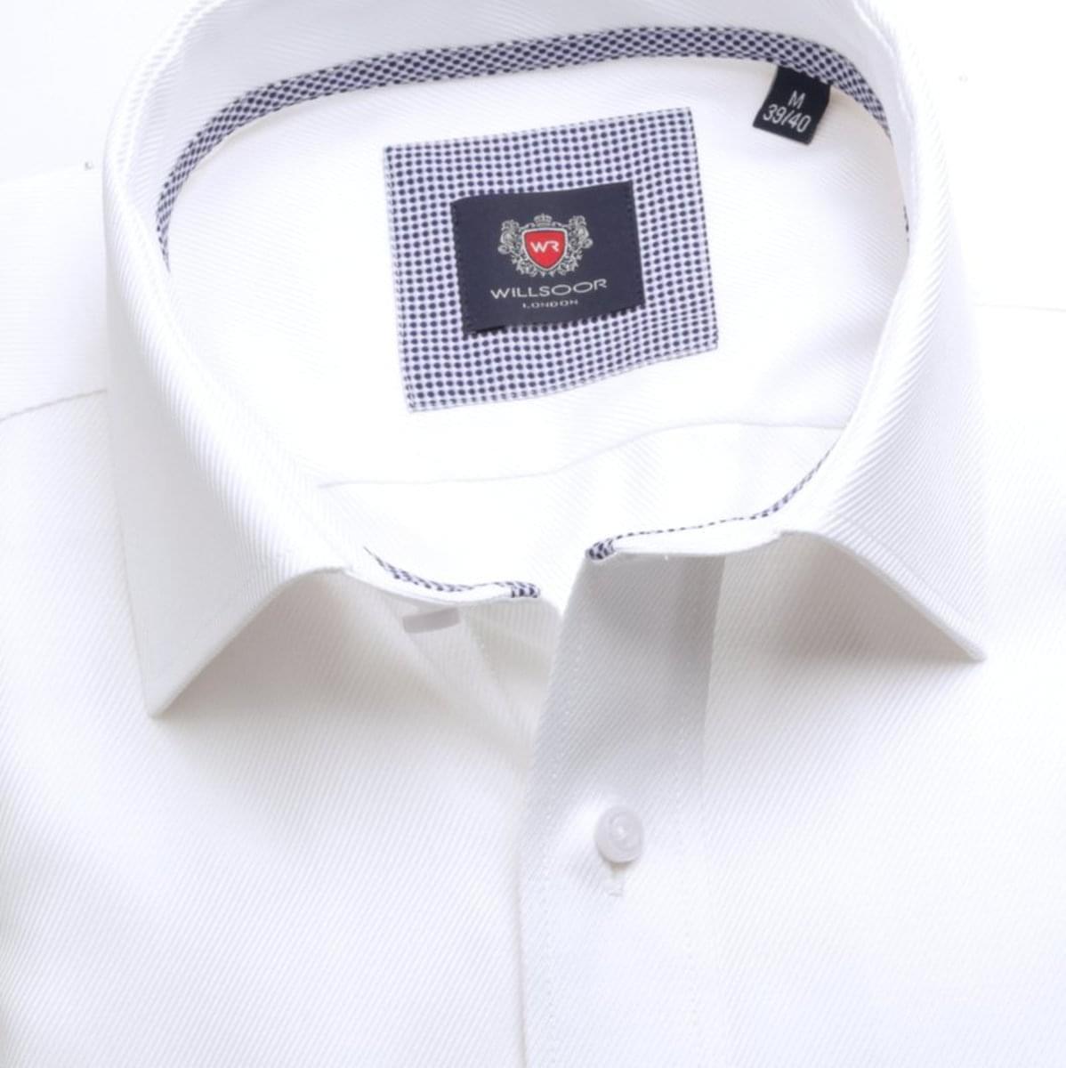 Pánská klasická košile London (výška 176-182) 7427 bílé barvě 176-182 / XL (43/44)