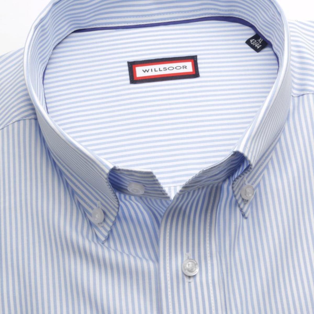 """Pánská klasická košile (výška 176-182) 7604 v bílé barvě s úpravou """"easy care"""" 176-182 / XL (43/44)"""