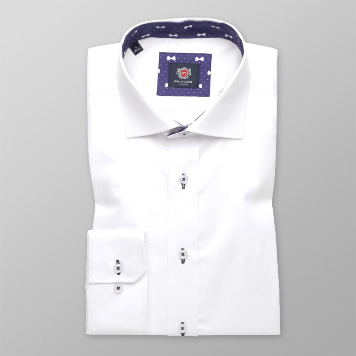 Pánská slim fit košile London (velikosti pro všechny výšky) 8847 164-170 / S (37/38)