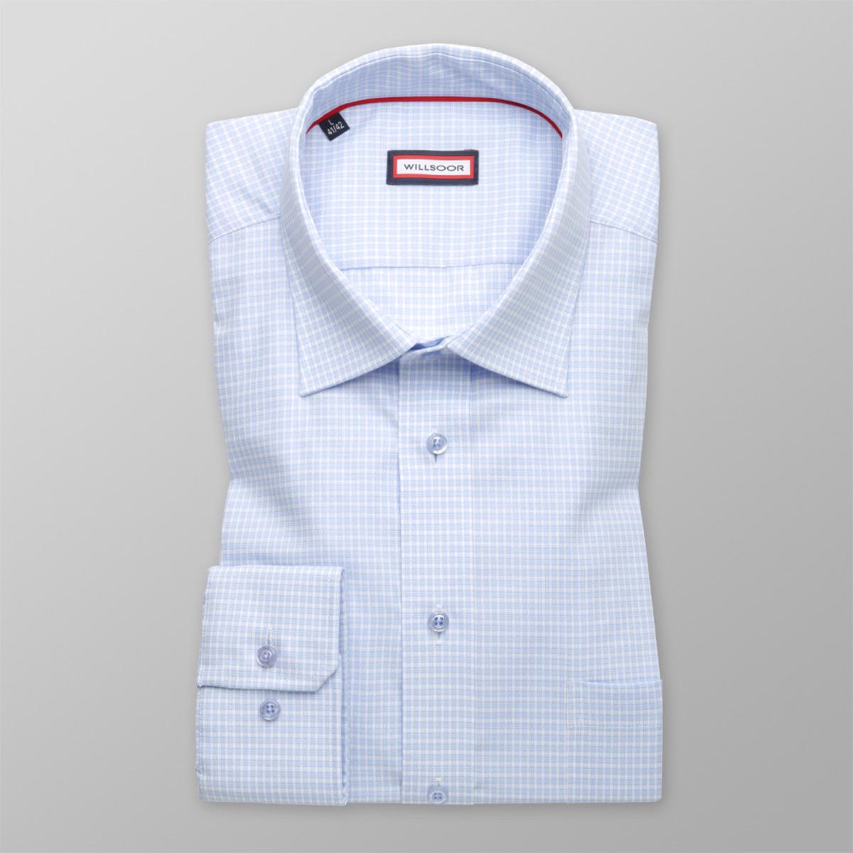 Pánská Slim Fit košile s jemným vzorem (výška 176-182) 9603 176- 5a019343f4
