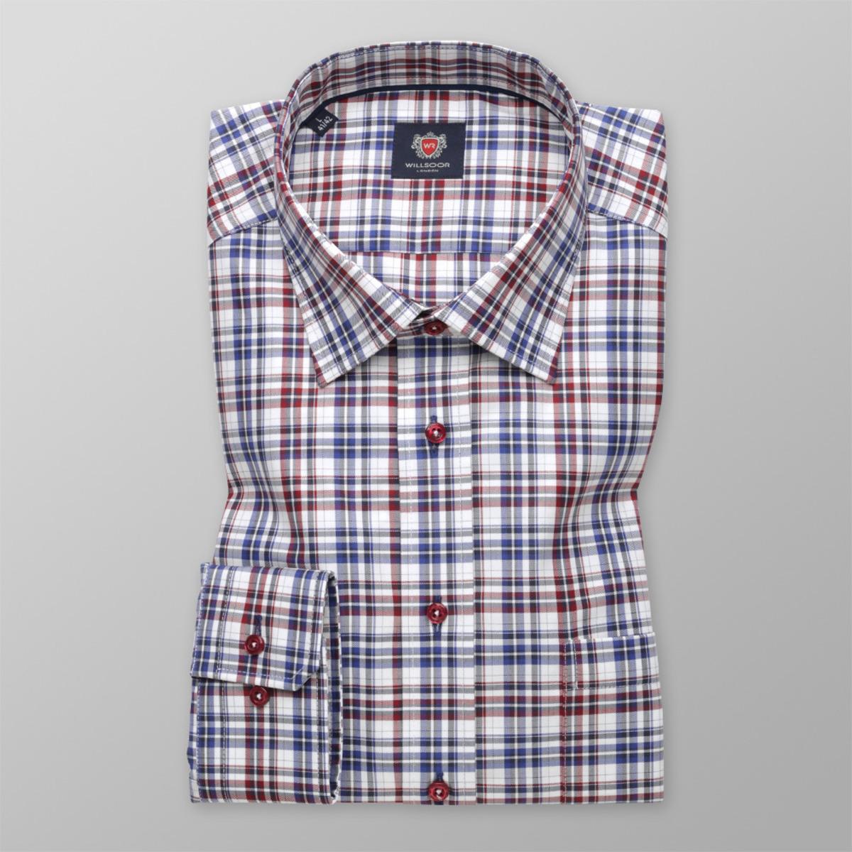 debd2a3172e Pánská košile London (výška 176-182) 9611 Slim Fit kostkovaná 176-182
