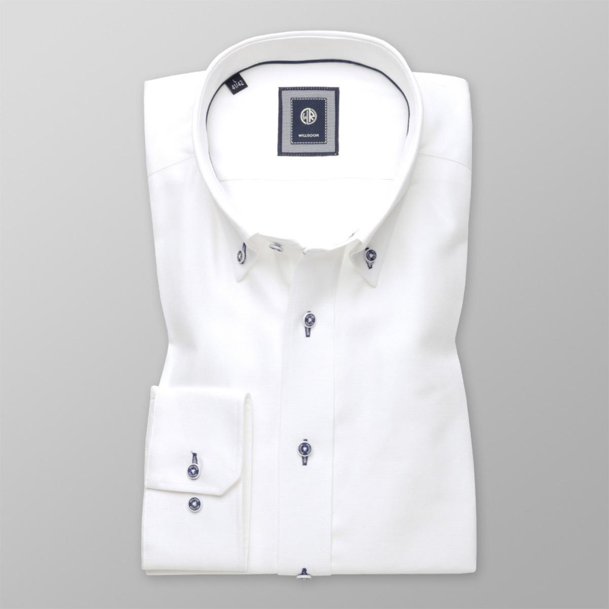 Bílá košile Slim Fit (výška 176-182 a 188-194) 9735 176-182 / L (41/42)