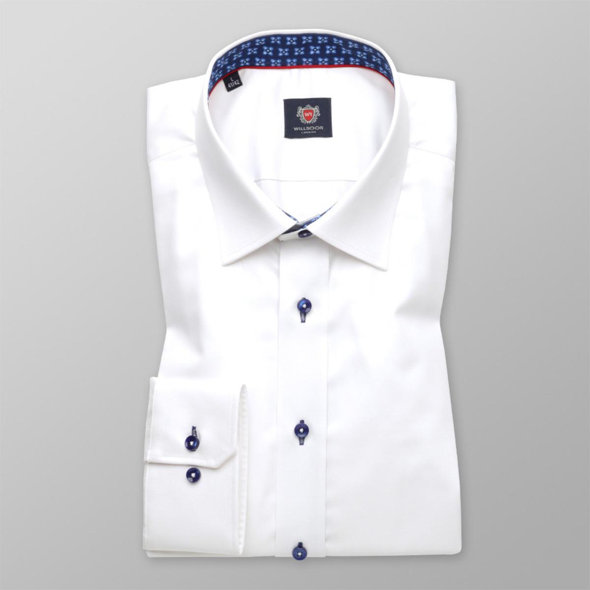 Košile London v bílé barvě (všechny velikosti) 9739 164-170 / S (37/38)