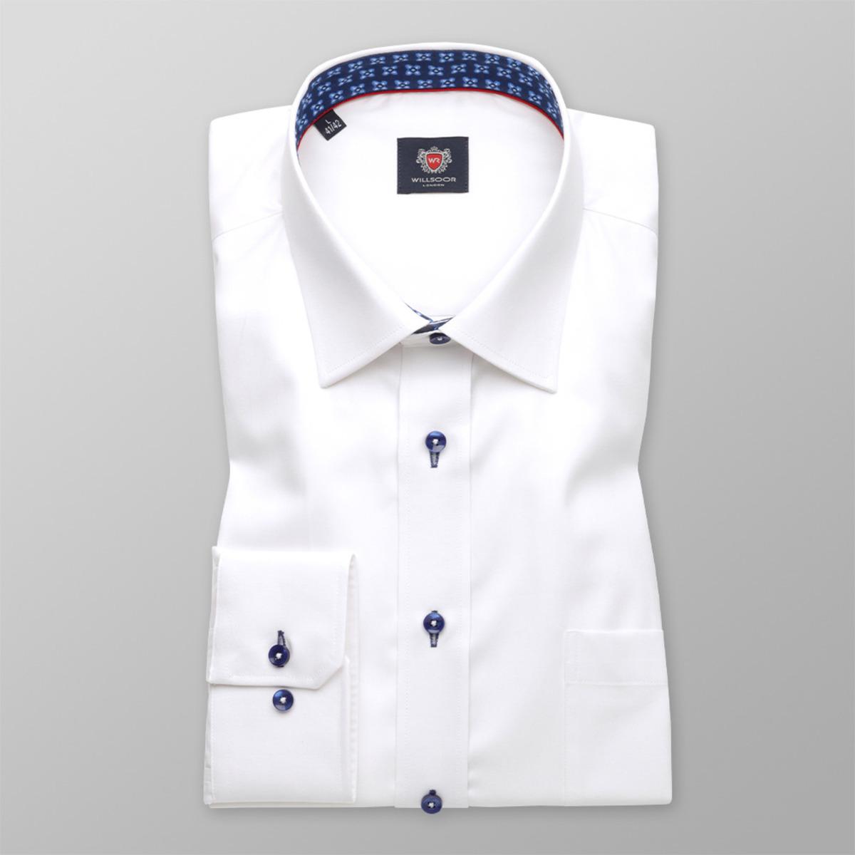 Košile London v bílé barvě (všechny velikosti) 9740 164-170 / L (41/42)