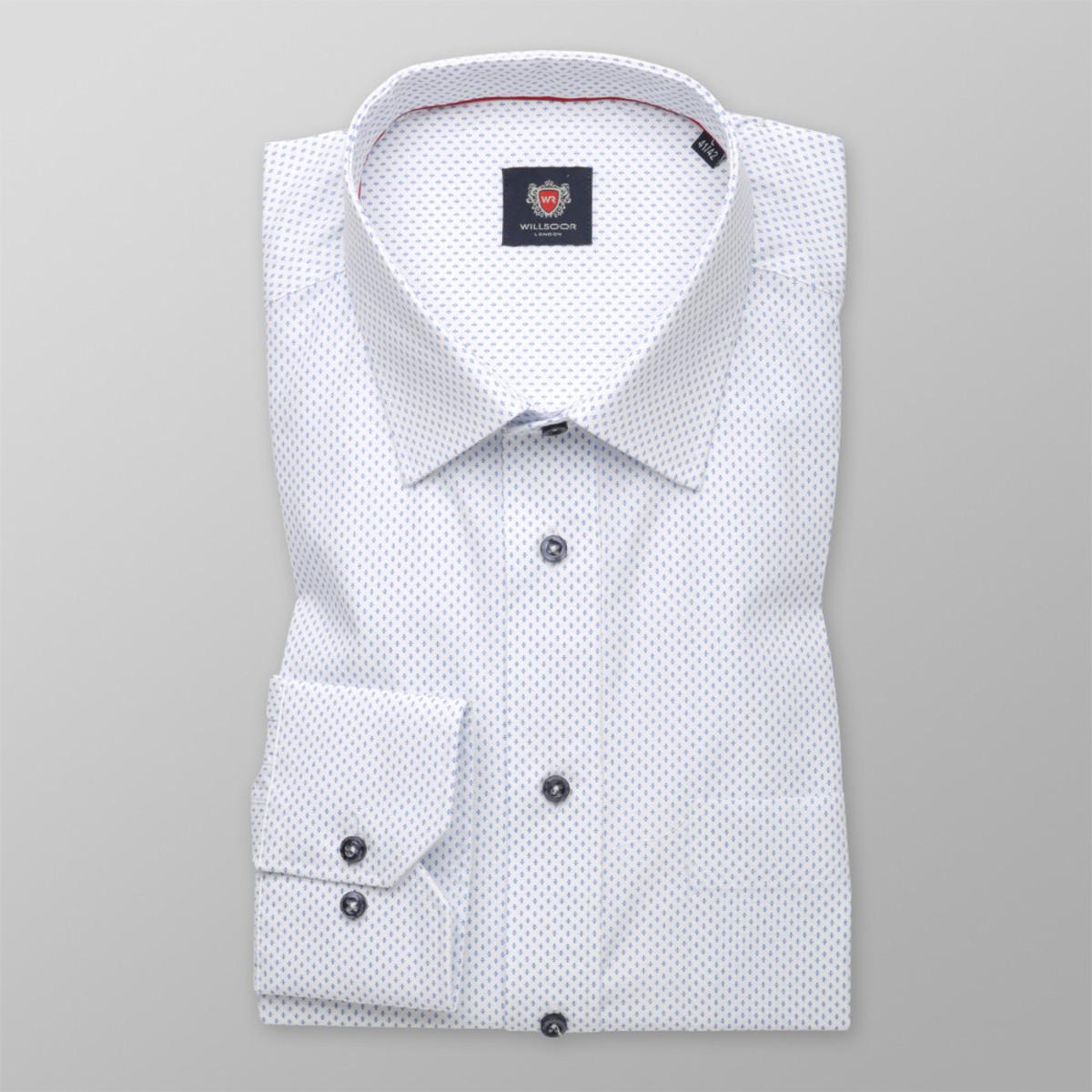 Košile London bílé barvy (výška 164-170) 9846 164-170 / L (41/42)