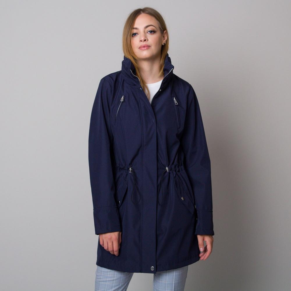 Dámská podzimní bunda tmavě modré barvy 13010 52