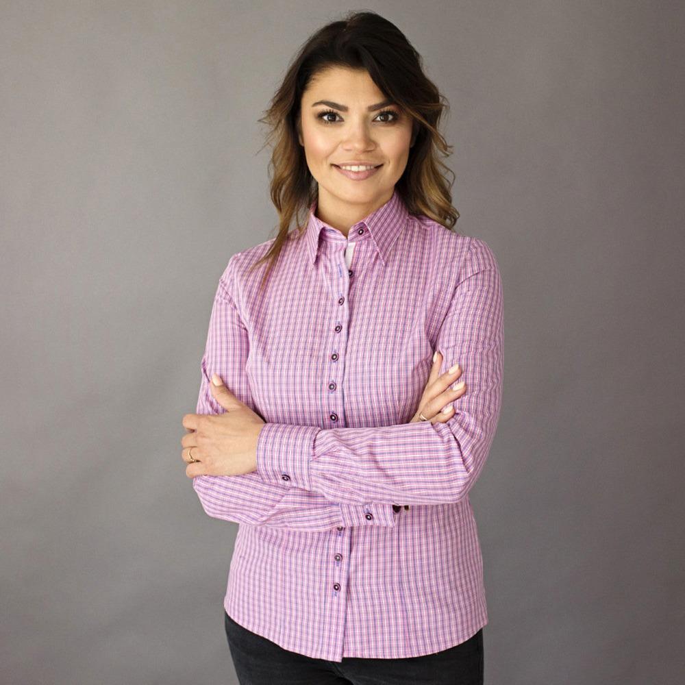 Dámská košile Willsoor 8420 v růžové barvě 35150d6489