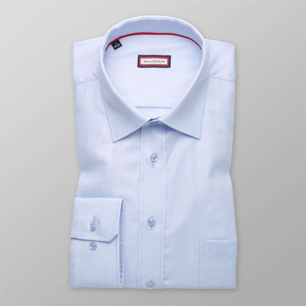 ccb16dbd457 Pánská košile klasická (výška 176-182) 9604 jemně vzorovaná - Willsoor
